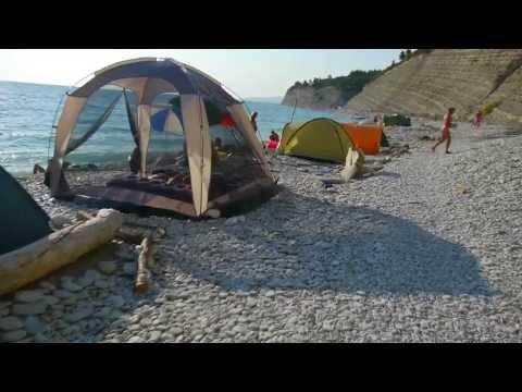 Пляжи Дивноморска и района Дивноморское