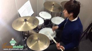 "[Level 12-2] ""Shut Up And Let Me GO-The Ting Tings"" Drum Cover(미치도록 쉬운드럼 2-삼호ETM)"