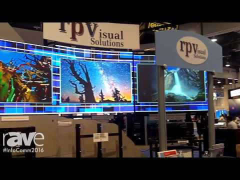 InfoComm 2016: rp Visual Solutions Gives rAVe a Booth Overview