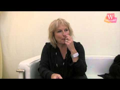 Jennifer Saunders at the Cheltenham Literature Festival 2013