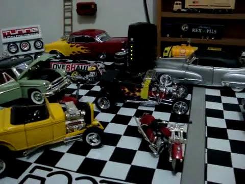 Miniaturas 1:18  Fabio Marques - Miniaturas e diorama 1:18 estilizados