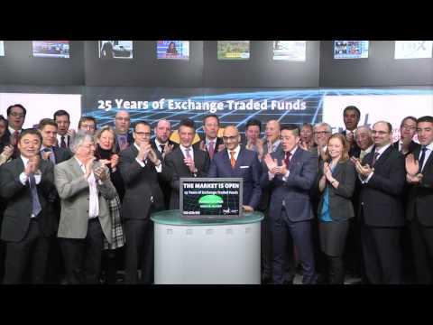 25 Years of Exchange Traded Funds (ETFs) on Toronto Stock Exchange, March 9, 2015