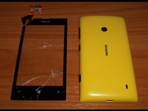 Nokia Lumia 520 Disassembly & Assembly - Touch Screen Replacement