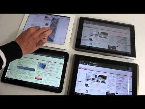 iPad2, eee pad, acer iconia, motorola xoom