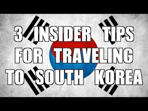 Three Insider Travel Tips for South Korea