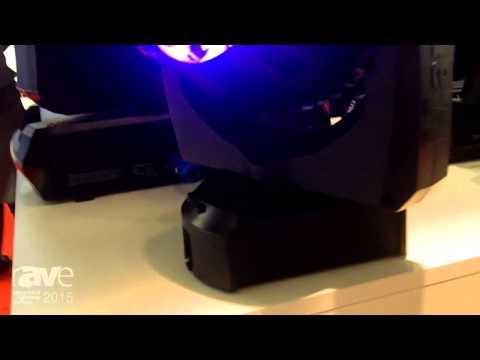 ISE 2015: Harman Introduces Martin Professional's Aura XB Light