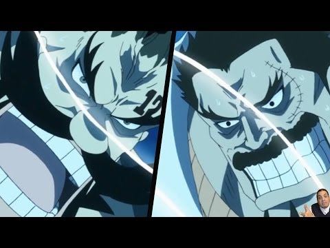 One Piece Episode 649 ワンピース Review -- Garp Vs Don Chinjao Full Fight & Luffy Fight Finale