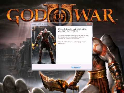 DESCARGAR Y INSTALAR GOD OF WAR 2 PARA PC  SIN EMULADOR 2015