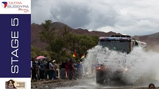 TATRA BUGGYRA RACING on DAKAR 2017 - Stage 5