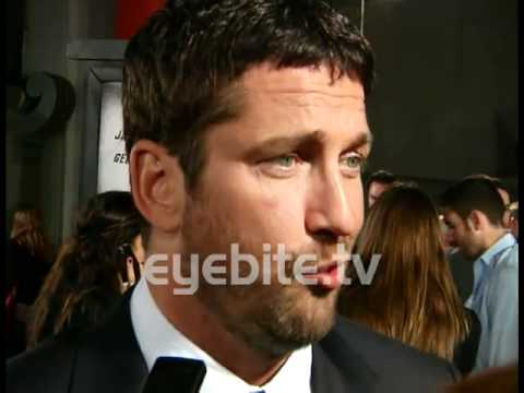 Gerard Butler talks about being an actor at Premiere Screening Law Abiding Citizen