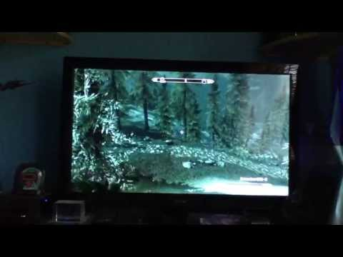 Skyrim: My cool invisible bow cheat (PS3)