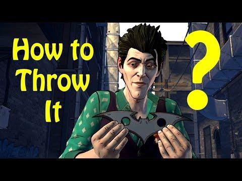 John Throw a Batarang - Batman The Enemy Within Episode 3 Fractured Mask