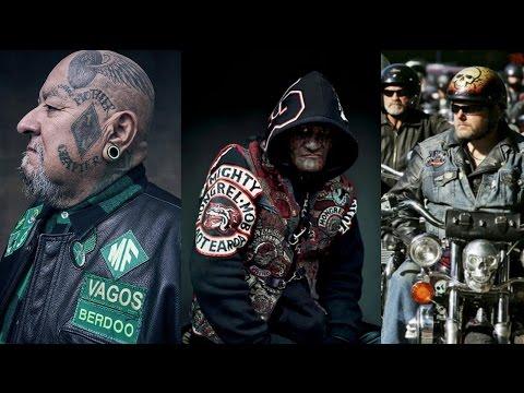 10 de las Bandas de Motociclistas más Peligrosas