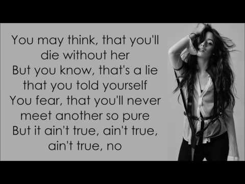 Camila Cabello ~ Crying In The Club ~ Lyrics (+Official Audio)