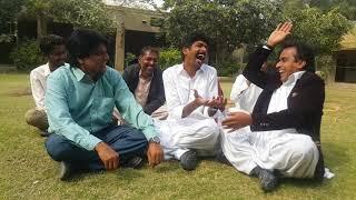 Comedy kings ali gul mallah sohrab somro funny conversation with   funny asghar khoso 