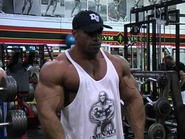 IFBB Pro Bodybuilder Dennis James - Muscletime Titans Part 1