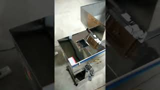 Low cost weighing filling machine for powder and granular product hardware