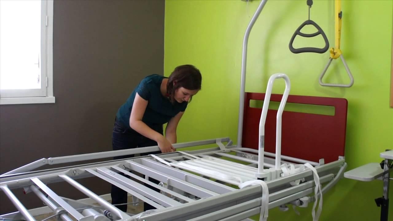 barre de lit youtube. Black Bedroom Furniture Sets. Home Design Ideas