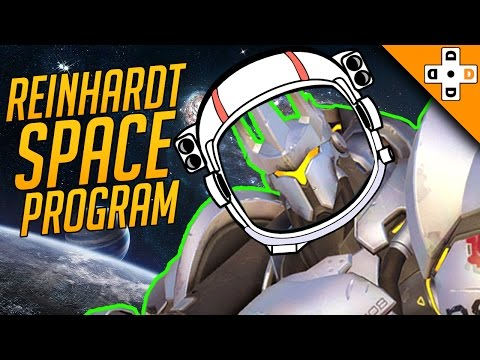 Overwatch Funny & Epic Moments 71 - REINHARDT SPACE PROGRAM - Highlights Montage