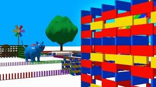 VIDS For KIDS In 3d HD Dominos For Children 9 AApV VideoMp4Mp3.Com