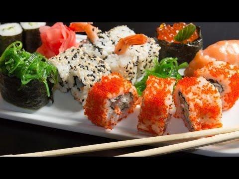 Суши. Как сделать роллы. Вкусные Рецепты ТВ