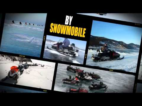 After Effects template sample, Baikal Ice Tours