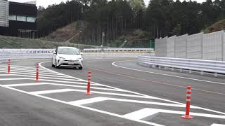Prius running movie | Toyota Technical Center Shimoyama