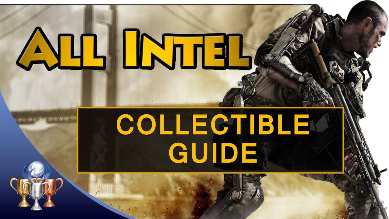 Call of duty advanced warfare all 45 intel collectibles locations