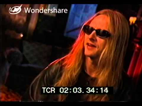 Jerry Cantrell - The Lost Interview Uncut Part 1 of 3