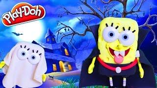 Play Doh Halloween SpongeBob Ghost Halloween Costume Disfraz DIY Play Doh Halloween Costume