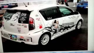 Anime Automobile Paint Job