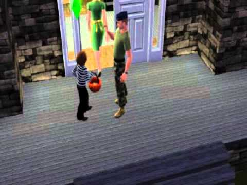 Sims 3 Seasons: Trick Or Treating Snippet