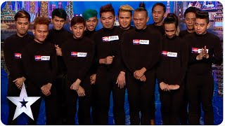 El Gamma Penumbra Earn Golden Buzzer From Anggun | Asia's Got Talent Episode 4
