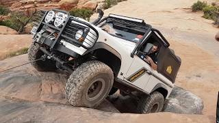 4x4 - Metal Masher - Argentinos en MOAB. Easter Jeep Safari 2017. Dash Cam. Viofo A119S