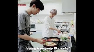 EXO FUNNY COOKING!!! [Don't let clumsy members cook ever again :)))))]