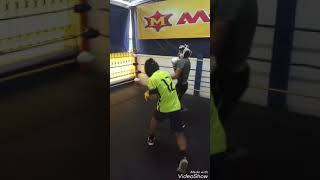 Boxing and muaythai training at Lookyamo gym
