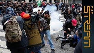 Why do US authorities want protestors Facebook accounts? - The Stream