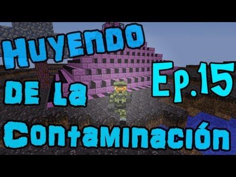 Huyendo De La Contaminación | Ep.15 - Un Perrito Negro WTF!! xD | Minecraft Mods Serie