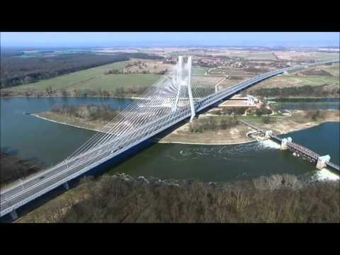 Most Rędziński, AOW I Stadion Miejski We Wrocławiu Z Lotu Ptaka