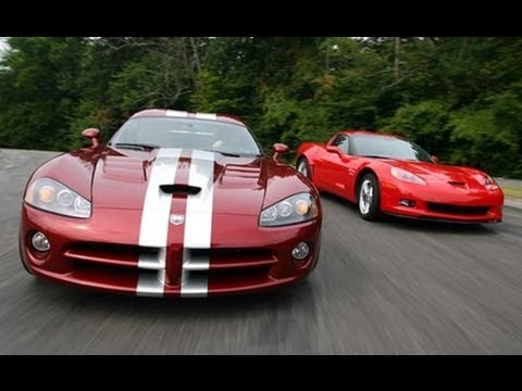 Chevrolet Corvette Z06 vs. Dodge Viper - Car and Driver Video