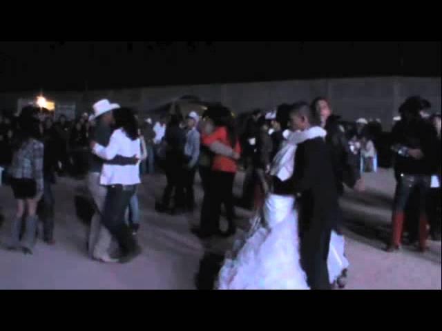 Baile de Boda en El Barril 2 de marzo 2013 Conjunto La Nube