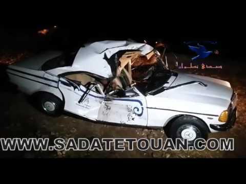 صخرة تقتل فتاة داخل سيارة الأجرة ببوعنان بتطوان
