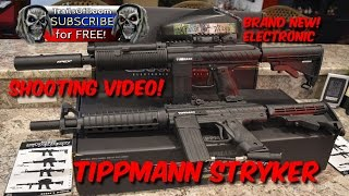 Tippmann Stryker MP2 Elite XR1 AR1 MP1 First review & Shooting Video by Trails of Doom Paintball