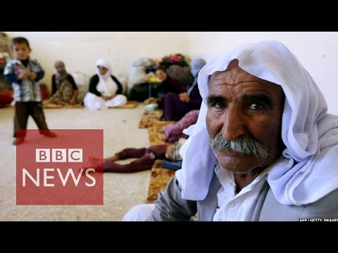 Iraq's Yazidis under ISIS fire - BBC News