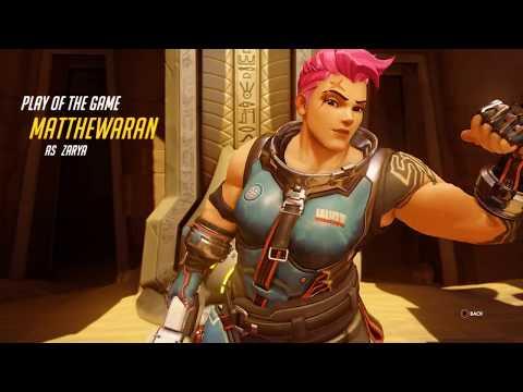 [06102018] Overwatch Play of the Game #55 (Zarya)