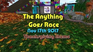 anything goes Race 2017 17 10 Thanksgiving