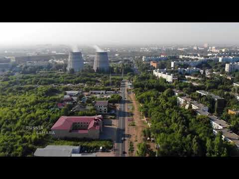 Пролёт по ул Алма-Атинская от пр Карла Маркса до Московского шоссе г.Самара