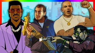 BEST SIDE CHARACTERS IN THE GRAND THEFT AUTO SERIES!