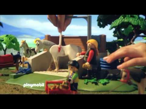 le centre questre playmobil youtube. Black Bedroom Furniture Sets. Home Design Ideas