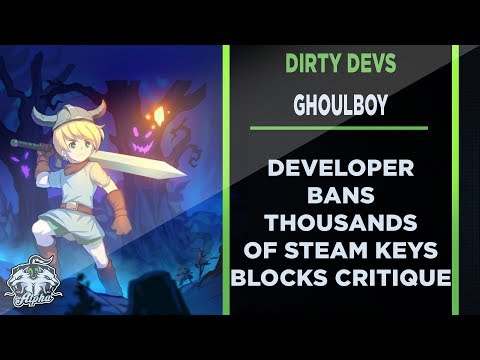Dirty Devs: Ghoulboy Developer bans thousands of Steam Keys